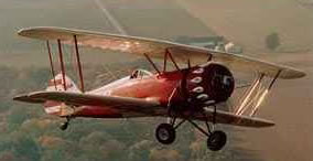 Chandler Field Bi-Plane!